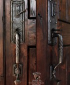 Arts and Crafts Style Custom Door Pull  #22