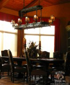 Arts and Craft Style Dinning Room Chandelier