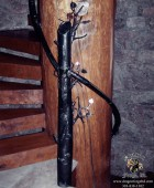 Forged Aspen Tree Null Post