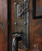 Arts and Crafts Style Custom Door Pull  #21