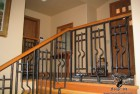 Craftsman Style Railing Slit and Drift and Tenoned Assembly