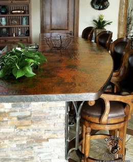 Copper Countertop 2