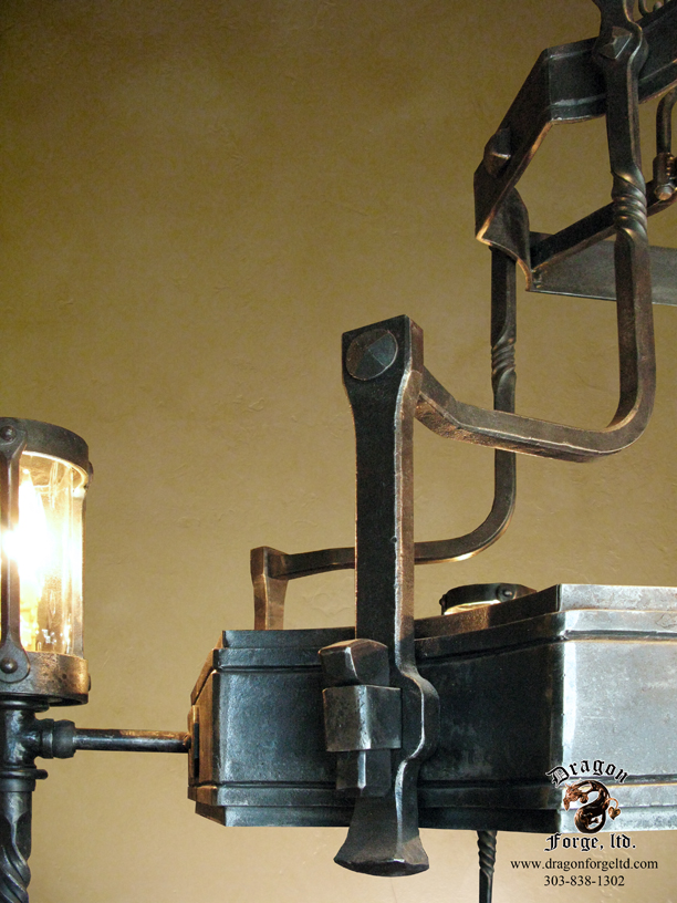 Lighting dragon forge colorado blacksmith custom hand forged zoom in read more aloadofball Images