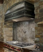 Arts and Crafts Kitchen Stove Hood