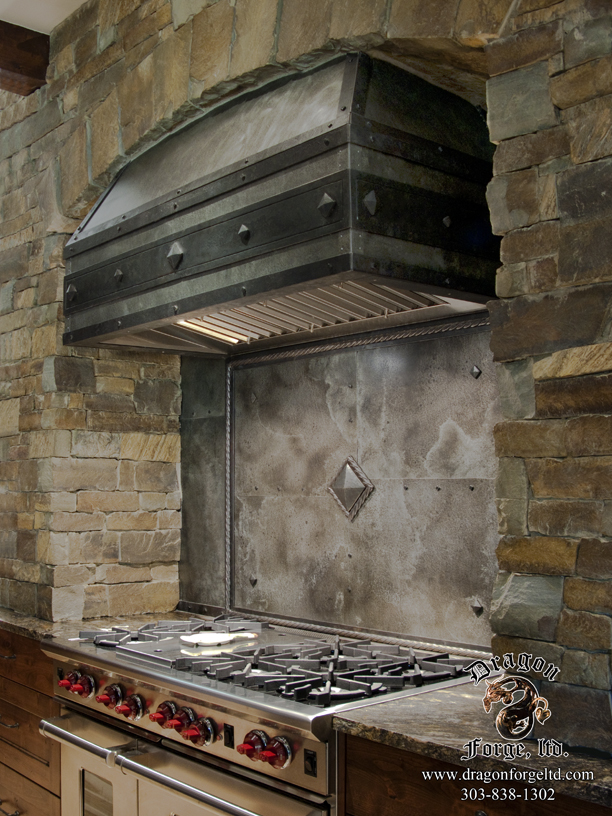 Arts And Crafts Kitchen Stove Hood Zoom In Read More