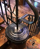 Forged Railing End Cap