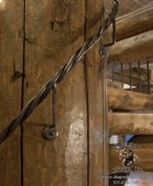 Forged American Craftsman Style Twisted Grip Rail