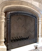 Mediterranean Style Fireplace Screen