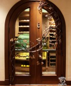 Wine Cellar Door Grape Vine Grill