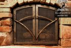 GNL Deco Custom Fireplace Doors