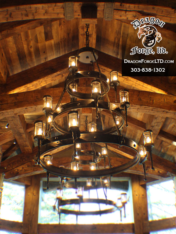 Great-Northern-Lodge-modern-rustic-chandelier-Dragon-Forge-Blacksmith