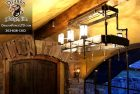 Whitefish Montana Forged Chandelier for Catwalk